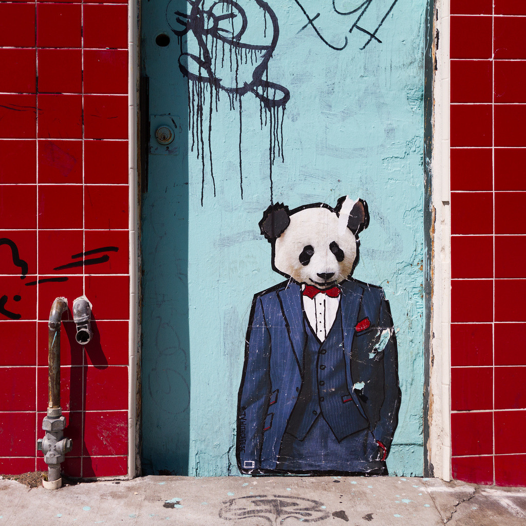 dapper dudsAs seen in the Mission District, San Francisco.
