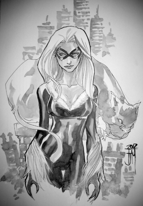 Felicia by Manapul (commissioned at Oz Comic-Con Melbourne last year).