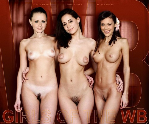 Alyssa milano look alikes in the nude
