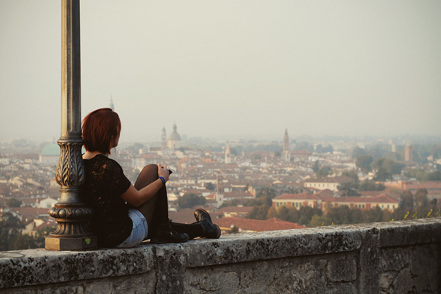   ♕   View of Vicenza, Northern Italy   by © Silvia Sala