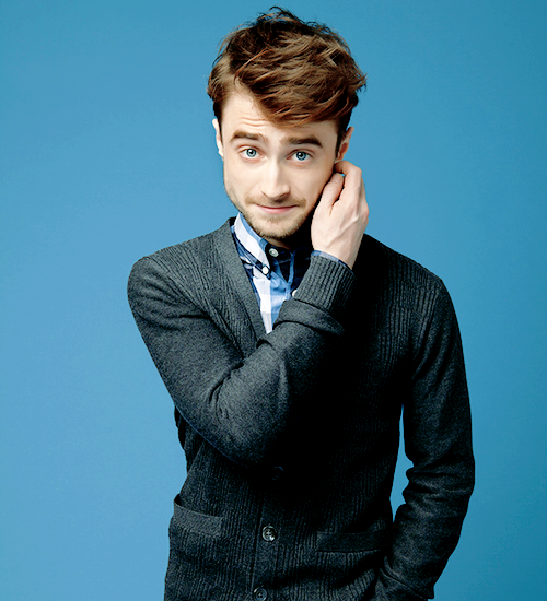 Daniel Radcliffe photographed by Dale May for Mental Floss Magazine (2014)
