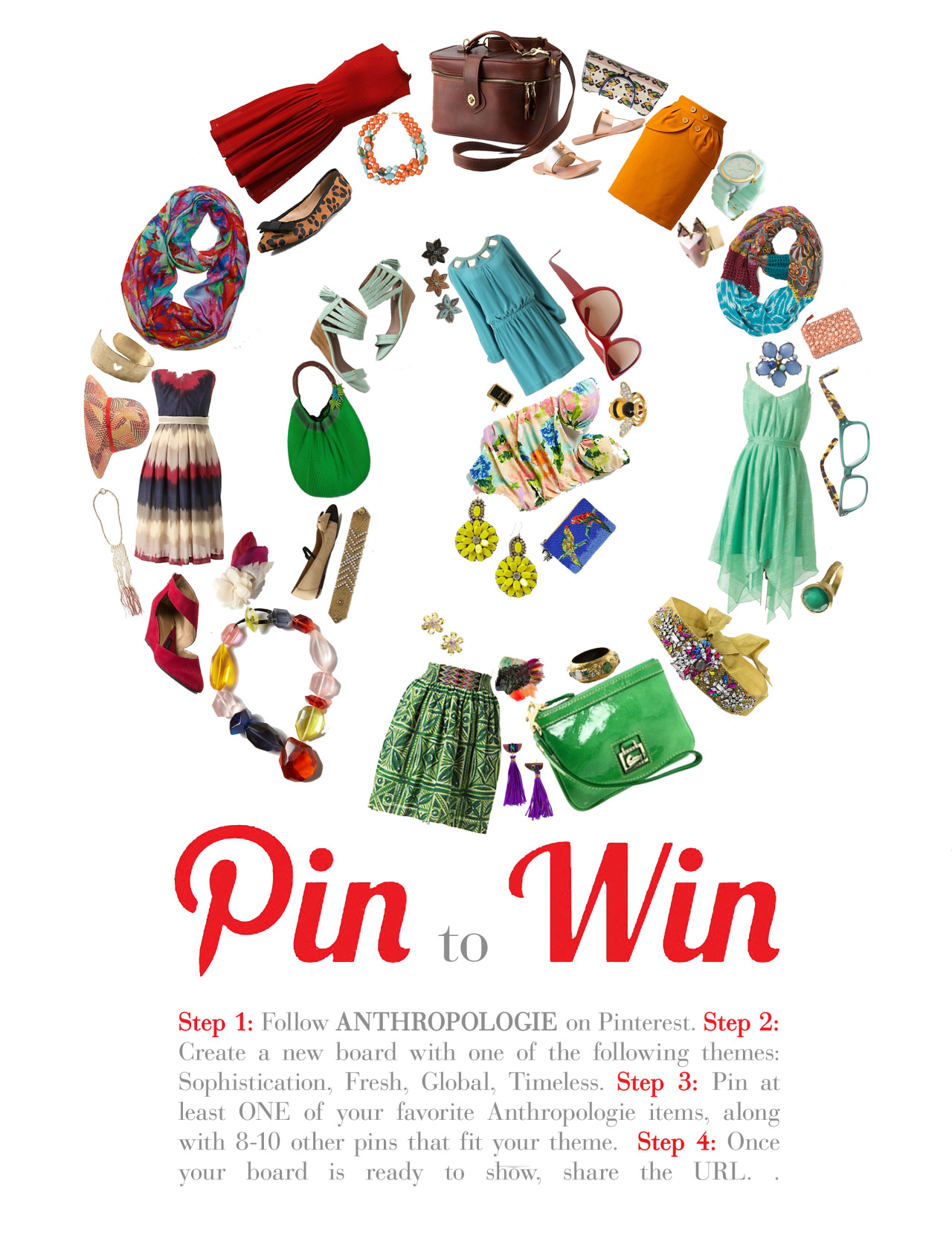 A mock-up for a Pinterest challenge for Anthropologie for a project at SCAD. Ultimately decided to go in a different direction (you'll see next week!), but I spent way too much time on this layout to not share it.