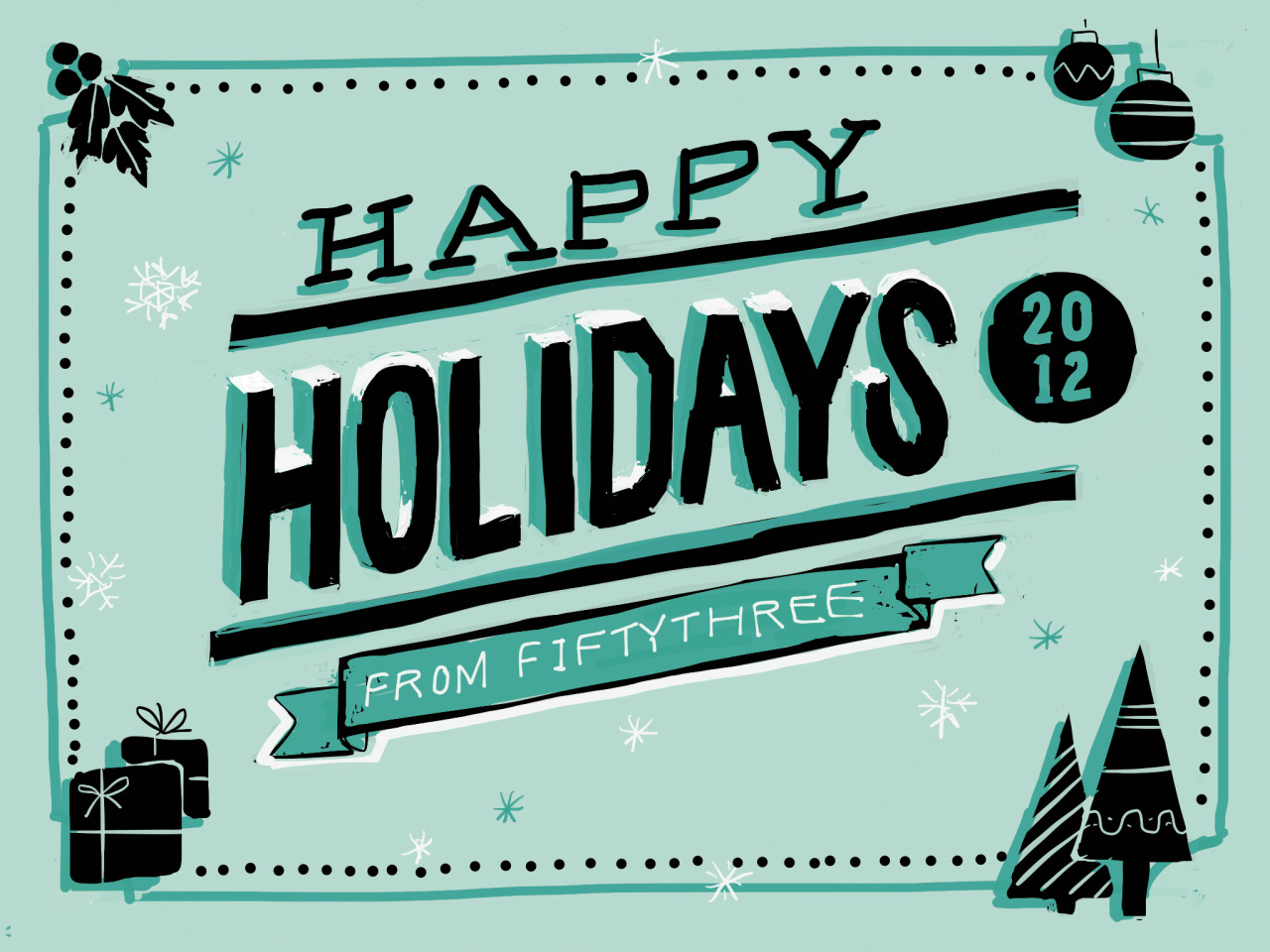 Happy Holidays from FiftyThree!