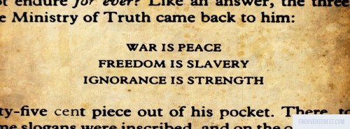 War Freedom And Ignorance Facebook Cover