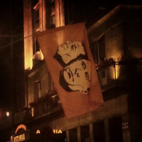 #netado #demonstration #budapest #putin #orban (at Astoria)
