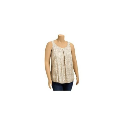 Old Navy Womens Plus Pleated Crepe Tanks   (see more scoop neck tops)
