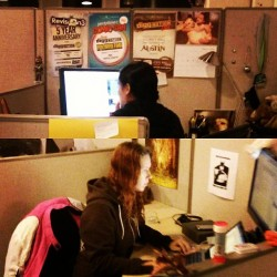 Graphic Director @marilee & Platform Engineer Kate holding down the fort to bring you the best of the best!