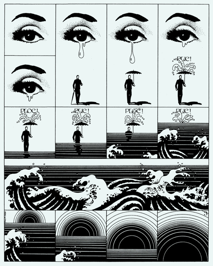Drawing by Philippe Caza  via butdoesitfloat.com