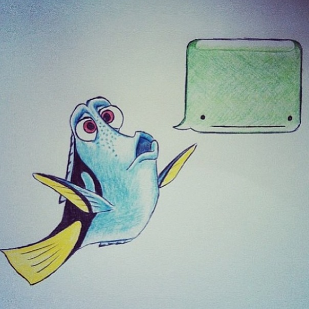 jessiesboy:  I SPEAK WHALE - Dory