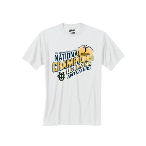 Like the new 2013 Men's Volleyball NCAA Champions shirt? This shirt is backed by two consecutive titles!