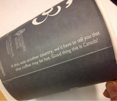 peterpayne:   	Stay snarky, Canada.