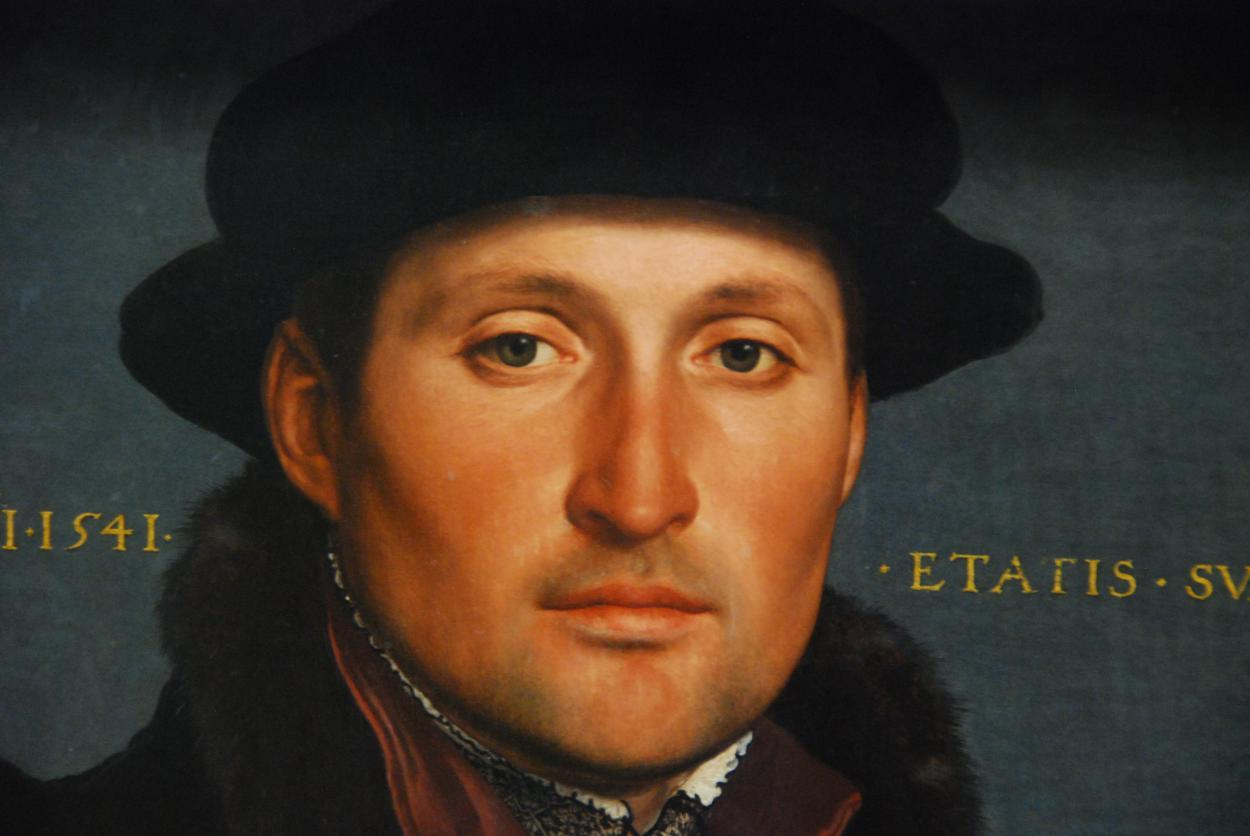 2018-11-06 21:33:32 - hans holbein portrait of a young merchant age pastmalebeauty http://www.neofic.com