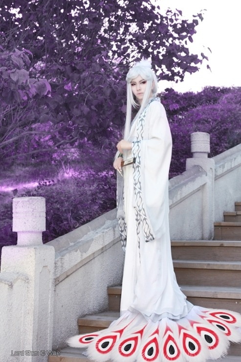 shinnchan:  HUMANIZED LORD SHEN COSPLAY TOTALLY GENIOUS JUST—LOOK AT THOSE DAMN DETAILS