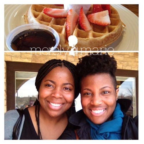 Hot date with my Sis today! :) #brunch #family #sisters
