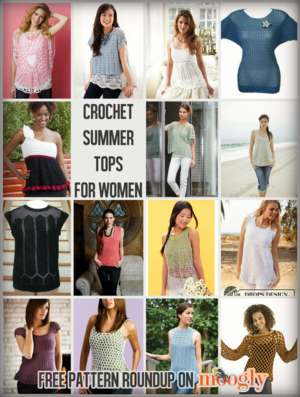 15 FREE patterns, from XS to 5X! Get links to all of them all HERE.