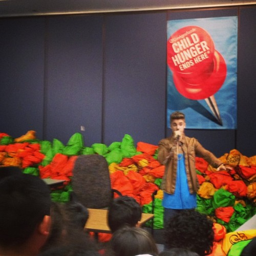 scooterbraun: Doing what he is supposed to do. #giveback