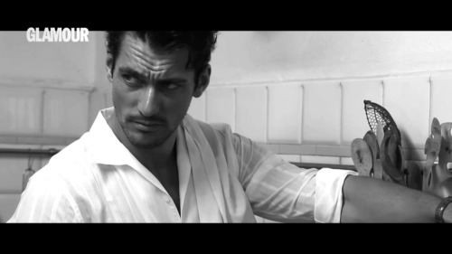 David Gandy - screencap Glamour Spain june 2013 shoot