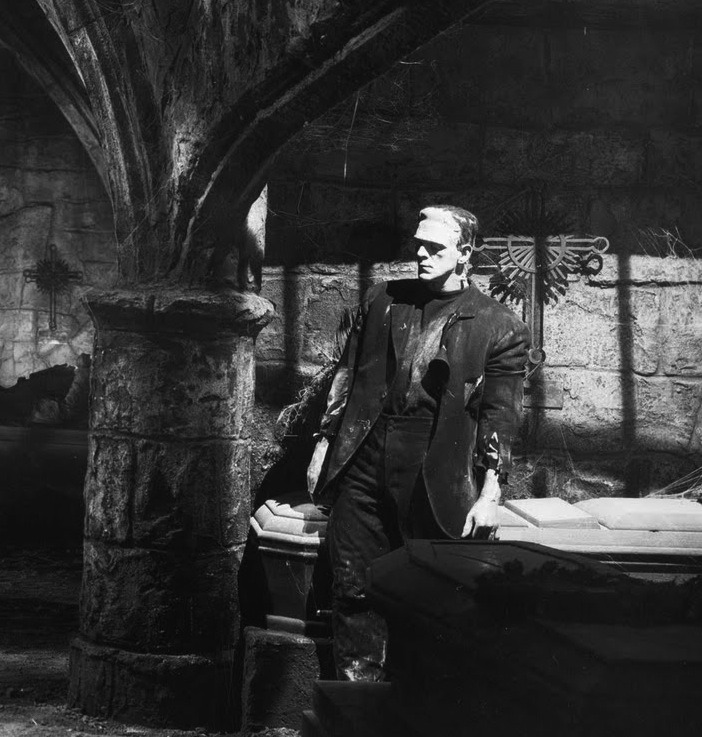 beautyandterrordance:  Bride of Frankenstein. Karloff, via arcaneimages.