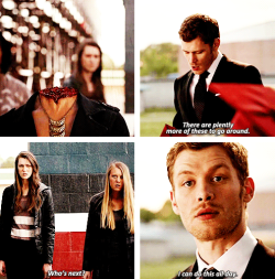 its-thevampirediaries:  Muahaha Klaus is hero #TVD