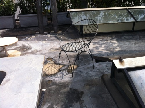 chair for rooftop