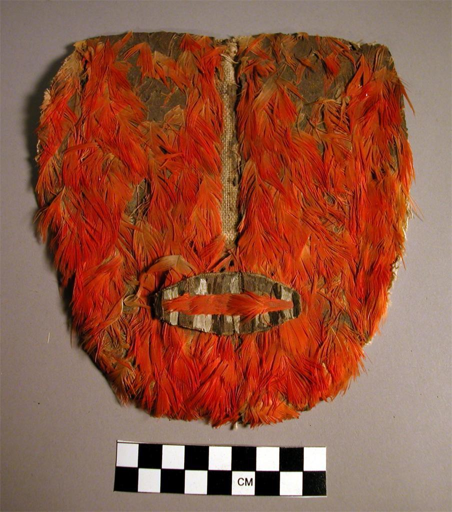 themegaloceros:  Nazca Mask cotton, feather Peabody Museum of Archaeology and Ethnology