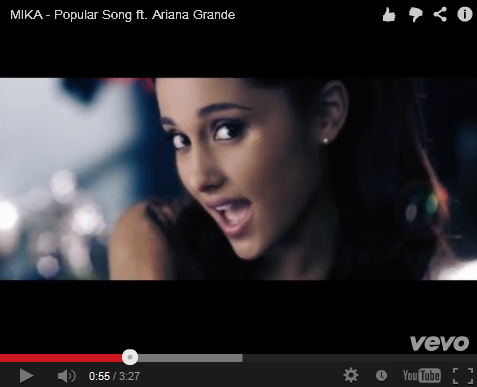 Ariana Grande And MIKA Are Creepy-Cute In The Video For 'Popular Song'