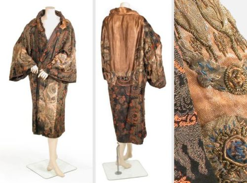 Paquin opera coat, summer 1920 From Doyle New York