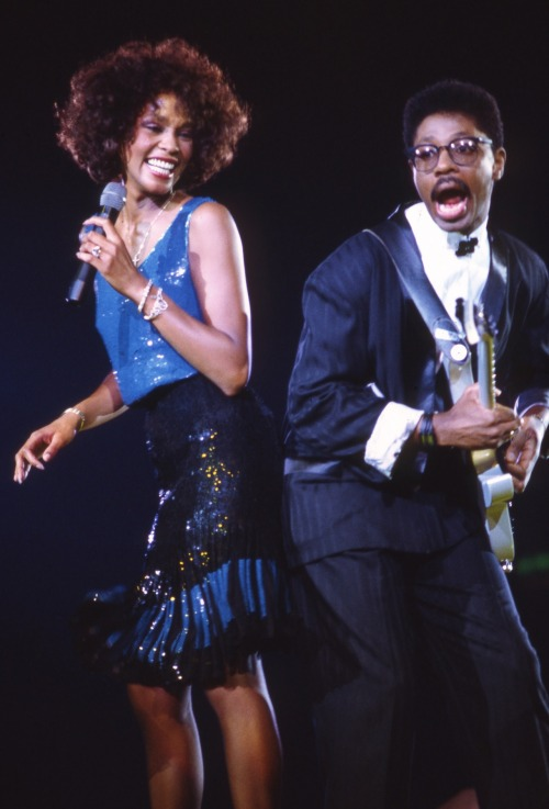 "everythingwhitneyhouston:  ""Without a doubt, her voice, for me, and for the world, was the gold standard. She had it all, she broke all barriers."" -Tommy Mottola"