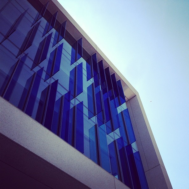 It's a blu-tiful day at NPR! (at NPR News Headquarters)