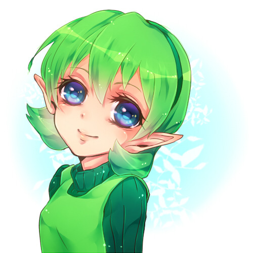 pain12345:  Saria From Ocarina of time ^w^