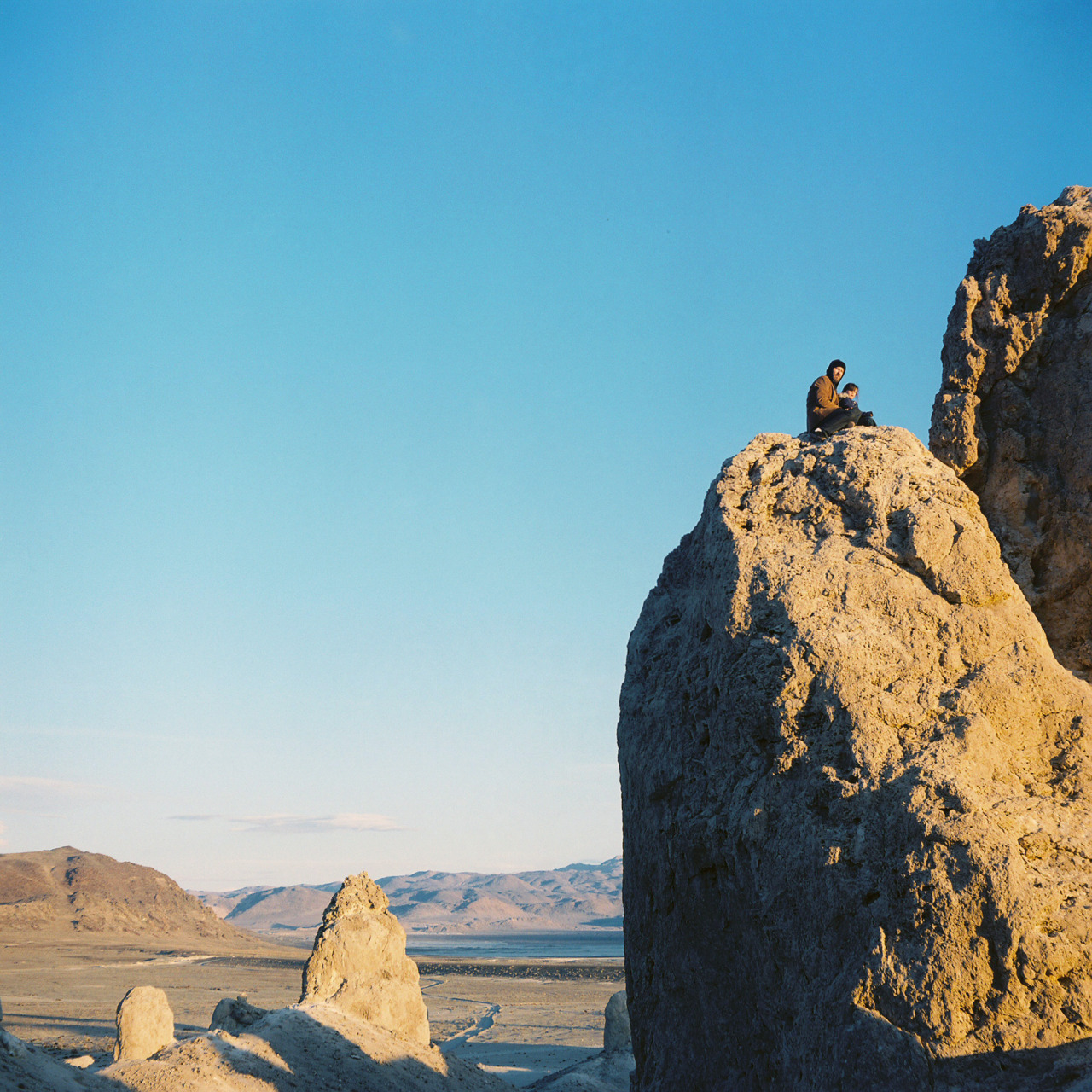 trona pinnacles trona, ca february 2013  This past February, I spent a week wandering around my hometown in the desert. Here is the first part of what I came back with.