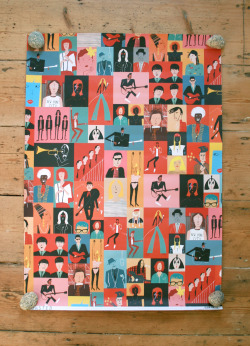 Rob Hodgson, Musicians (Wrap published by Urban Graphic)