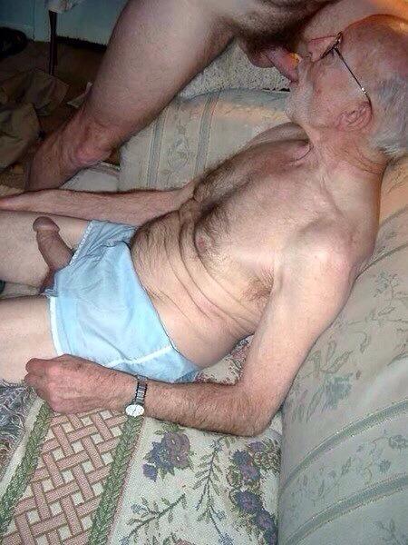 Granpa gay mature gay men