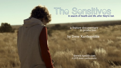 Currently editing a sample for my feature documentary, The Sensitives.