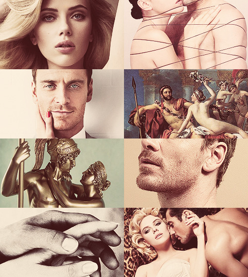 Greek Mythology Picspam - Ares & Aphrodite  The Goddess of Love and Beauty had a long love affair with Ares which lasted for the duration of her marriage to Hephaistos and beyond. She bore him four divine sons and a daughter: Eros, Anteros, Deimos, Phobos and Harmonia. (x)