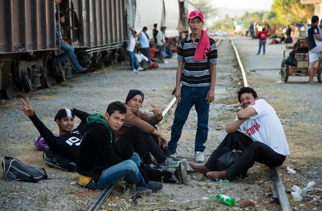 "Crossing Mexico's Other Border  People tend to assume that the immigrants crossing the US–Mexico border are all Mexican. The reality is that a large percentage of them come from Central America, and their journey north is grueling. To get to the US, they first have to pass through Mexico, an ordeal that often ends up being even more difficult than getting into the United States. Most migrants cross into Mexico on rafts, via the Suchiate River. After that, they need to protect themselves from corrupt Mexican police, drug cartels like the infamous Zetas, and even fellow migrants. They often travel by foot and by pubic transit, but many of them ride on top of ""the Beast,"" the freight trains that travel from the south to the north of Mexico. While the majority of the migrants are young men, a small percentage of them are women who endure hardships like the possibility of being raped by basically anyone they come across. Some of them are forced to stay in the border state of Chiapas and work as prostitutes because they are too weak to keep going, need to save some money to continue their journey, or, if they decide to stay, so they can travel back and forth between Mexico and their home countries to visit their kids. For this episode of Fringes, we followed Yoana, a young girl from Guatemala who has been living in the small town of Huixtla, Chiapas, working as a prostitute to make money to help her two sons. We tagged along with a special unit from the state government that is in charge of protecting migrants as they travel through Chiapas. We then hopped on board the Beast with more than 400 other migrants traveling from Arriaga to Ixtepec, Oaxaca, to try to understand the hardships they go through and why they leave their homes in the first place. Watch the video"