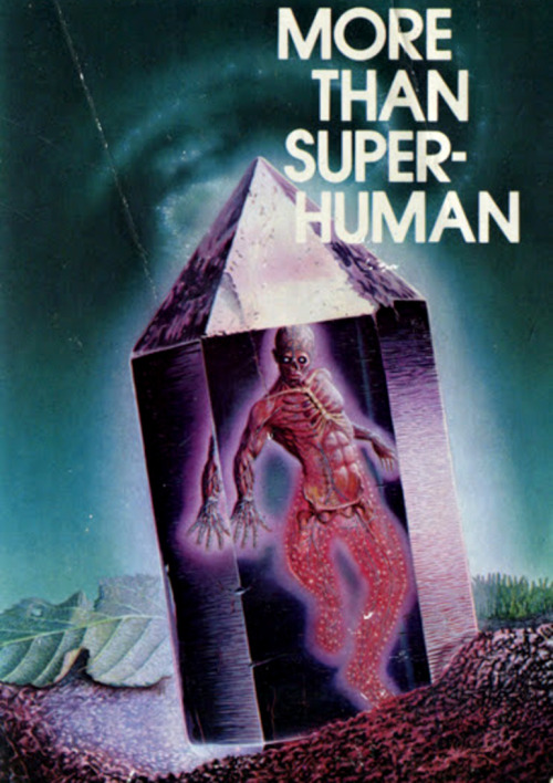 sciencefictiongallery:  Gerald Grace - More Than Super-Human, 1980.