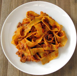 Slow-Simmered, Meaty Goodness in Sauce Form: Bolognese  by thedabble on Flickr.