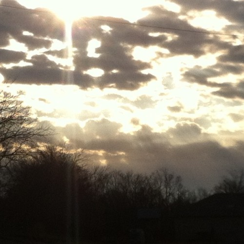 Last Sunday Morning 1/13/13 #nofilter  (at Blue Ridge, TX)