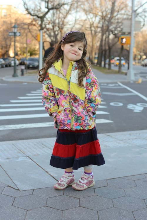 "humansofnewyork:   ""She picks out her clothes all by herself.""     I kinda dressed like her when I started to do that =3"