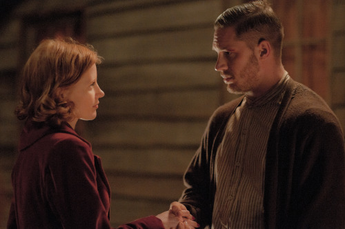 lawlessuk:  Jessica and Tom in Lawless