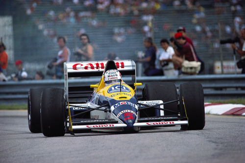 Nigel Mansell  Williams - Judd 1988