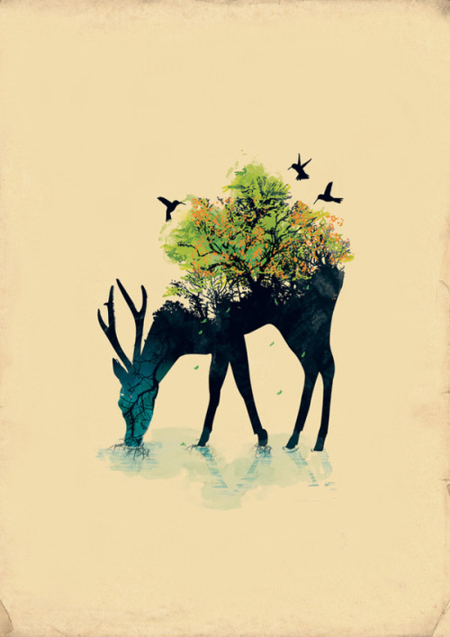 artchipel:  Budi Satria Kwan - Watering (A Life Into Itself)
