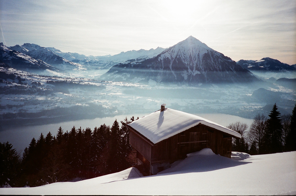 Cabin in the Mountains by Chrrristine Switzerland