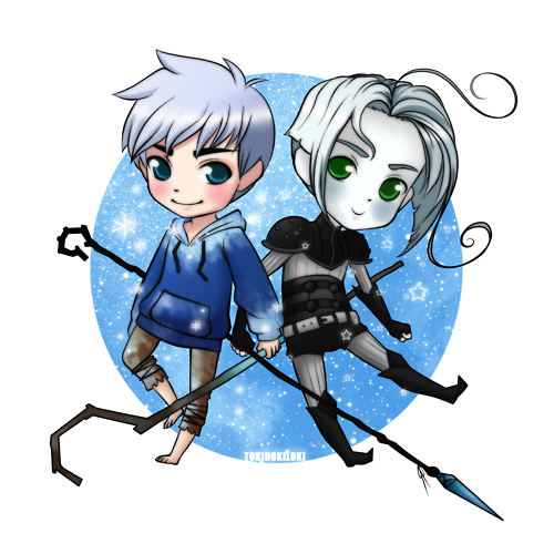 rikufan11:  Jack Frost and Nightlight [Credit to the artist who is not me]