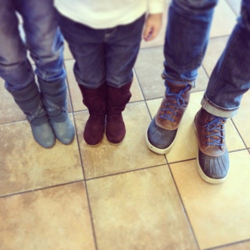 If The Boot-ah Fits. (at Chick-fil-A)