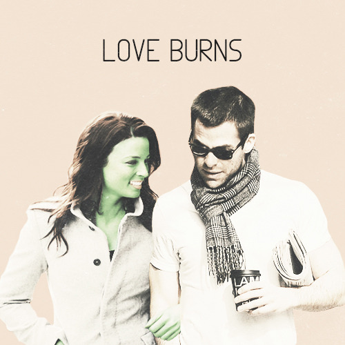 sanssa:  LOVE BURNS - A Jim/Gaila fanmix     LOVE BURNS - BLACK REBEL MOTORCYCLE CLUB / ONE MORE NIGHT - STARS / SEX KARMA - OF MONTREAL / THE PROMISE - SEA WOLF / WE ARE YOUNG - FUN / SLEEP ALONE - BAT FOR LASHES / GIRLSHAPEDLOVEDRUG - GOMEZ / CRYSTALISED - THE XX / INVISIBLE - WILD BEASTS / SPIT THE DARK - THE EMPIRES    Please like/reblog if you DOWNLOAD