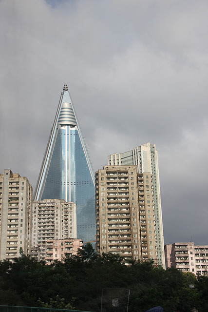 Ryugyong Hotel on Flickr.