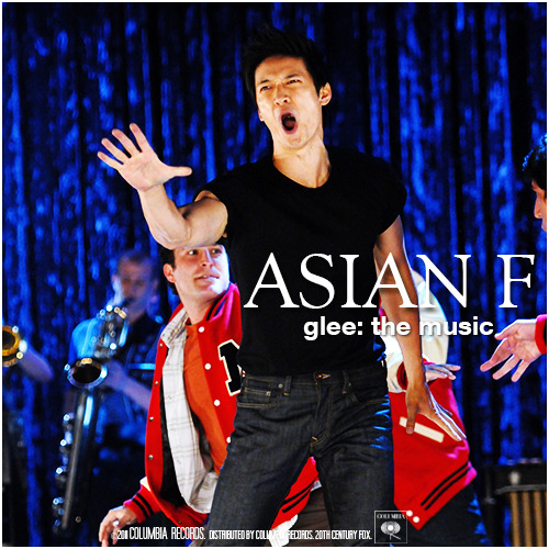 Glee: The Music, Asian F Requested Alternative Album Cover Request by thes0undofdrums