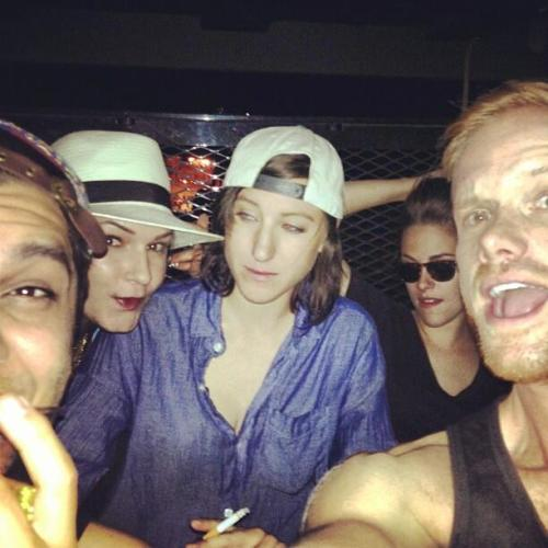 New Pic of Kristen w/ Friends - May 12 Source: Instagram / corymssView Post